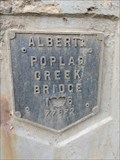 Image for Poplar Creek Bridge - 1975 - Wood Buffalo, AB