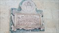 Image for Lt Alfred M Knowles Tablet - St John the Divine - Colston Bassett, Nottinghamshire