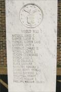 Image for World War I - Benton County Memorial - Camden, TN