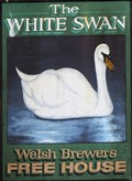 Image for The White Swan - Pub Sign - Swansea, Wales.