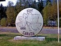 Image for World's Largest  Penny - Salmo, BC