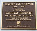 Image for Fender's Radio Service - 1944 - Fullerton, CA