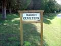 Image for Rader Cemetery, Eminence Shannon Co., Missouri.
