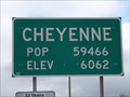 Image for Cheyenne, WY - Elevation 6062