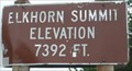 Image for 7392 Feet, Elkhorn Summit, OR