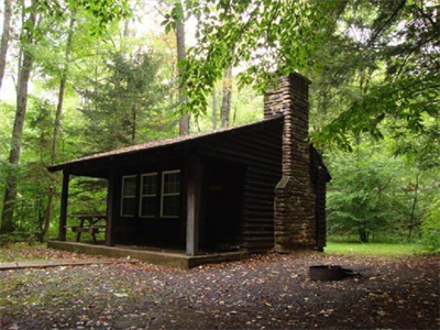 Cabin No  16 - Worlds End State Park Family Cabin District