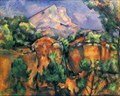 Image for Montagne Sainte-Victoire by Paul Cezanne (Bouches-du-Rhône, PACA, France)