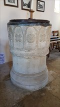 Image for Norman Font - All Saints - Naseby, Northamptonshire