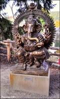 Image for Ganesa Macula (Titan) & Ganesha (god) - Prague ZOO (Prague, CZ)