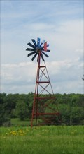 Image for Brightly Painted Windmill - Gasconade County, MO