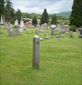 Image for Hitching Post - Nichols Cemetery, Nichols, NY