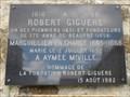 Image for Plaque de Robert Giguère - Sainte-Anne-de-Beaupré, Québec