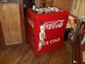 Image for Coca Cola Cooler- Cracker Barrel-CaveCity, KY