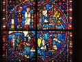 Image for Louvre Stained Glass Exhibits  -  Paris, France