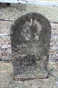 Image for FIRST Recorded Burial in Gunsight Cemetery - Gunsight, TX