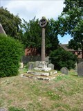 Image for Cross, St Benedict Biscop, Wombourne, South Staffordshire, England