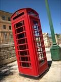 Image for Red Telephone Box - Valletta St. Elmo Place, Malta