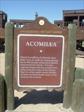Image for ACOMILLA - Historical Marker