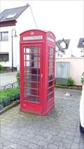 Image for Red Telephone Box - Urmitz/Rhein, Rhineland-Palatinate (RLP), Germany