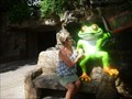 Image for Rain Forest Tree Frog Bench - Disney's Animal Kingdom, Orlando, FL.
