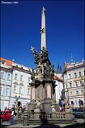 Image for The Holy Trinity Column / Sloup Nejsvetejší Trojice in Prague's Lesser Town Square