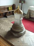 Image for Font, St Mary Magdalene, Alfrick, Worcestershire, England