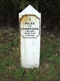 Image for Milestone - Wimpole Road, Harlton, Cambridgeshire, UK