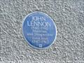 Image for John Lennon Blue Plaque