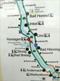 "Image for Marker at a ""Rheinradweg"" Sign in Remagen- RLP / Germany"