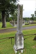Image for Joel Morrison - Cedar Hill Cemetery - Vicksburg, MS