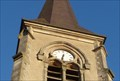 Image for Une horloge de clocher-Vecoux-Vosges-France