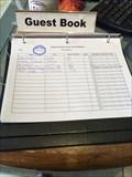 Image for Kingman Visitor Center Guest Book - Kingman, AZ