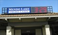 Image for Mendo Lake Credit Union Sign - Lakeport, CA