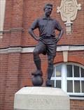 Image for Johnny Haynes Statue, Craven Cottage, Fulham, London SW6, UK