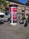 Image for Litfaßsäule auf dem Bodanplatz - Konstanz, BW, Germany