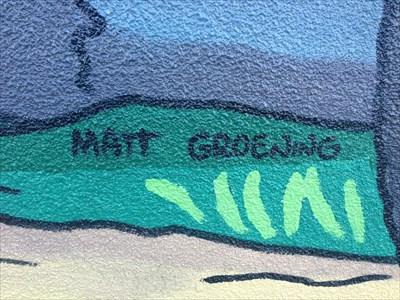 Artist Matt Groenig, Springfield, Oregon