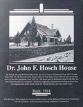 Image for Dr. J.F. Hosch House - Redmond, OR