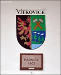 Image for Ostrava - Vítkovice CoA on Town Hall  (Ostrava, North Moravia)