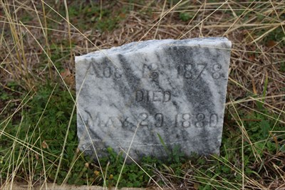 According to Findagrave, this headstone belongs to Riley Cannon.