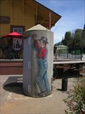 Image for Painted Concrete Cylinder Box - Colfax, CA