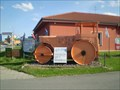 Image for Road roller in Chrudim, Czech Republic