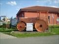 Image for Road roller in Chrudim, Czech Republic