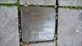 Image for ISIDOR KAHN  -  Stolperstein, Gelsenkirchen, Germany