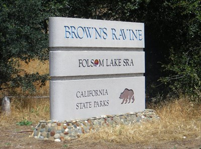 The marina entry is actually in the town of El Dorado Hills, California, just east across the county line from Folsom, which is in Sacramento County.