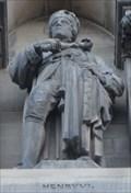 Image for Monarchs - King Henry Vi On City Hall - Bradford, UK