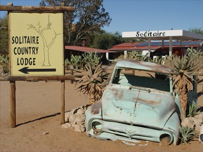 Solitaire - Old Cars, Khomas-Region, Namibia