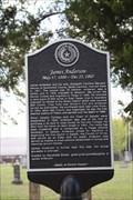 Image for James Anderson -- Salado Cemetery, Salado TX