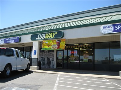 Subway Restaurants Placerville Ca