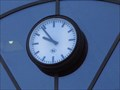 Image for Town clock at the railwaystation - Bonn, NRW, Germany