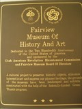Image for Fairview Museum of History and Art - Fairview, UT, USA